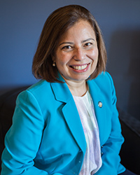 Interim Vice Chancellor for Planning and Budget Veronica Mendez